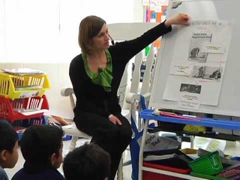 A good video on teaching a guided reading small group.