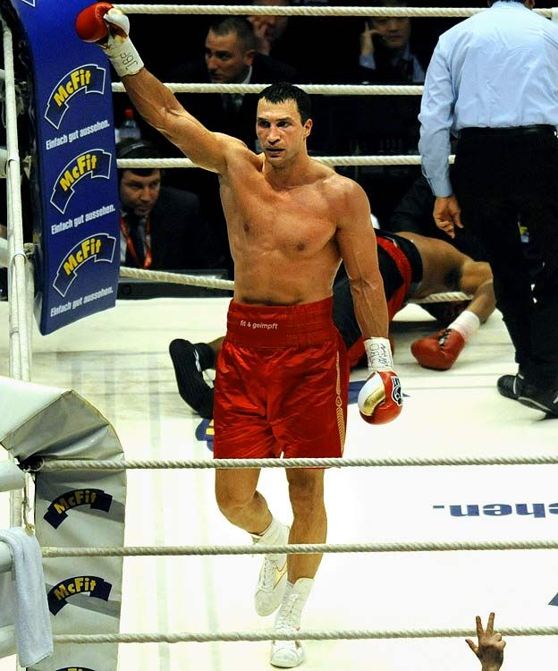Wladimir Klitschko  Done..and done.