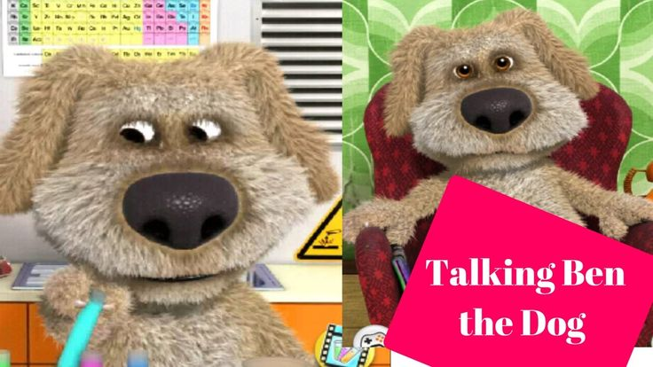 Talking Ben The Dog - Talking Ben Game For Kids - Talking Tom Cat Game Video