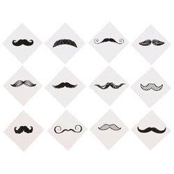 mustache finger tattoo pictures | Incentives / Tattoos / Mustache Finger Tattoos