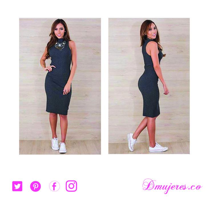 Hermoso Vestido Active que se ajusta armonizando tu figura.