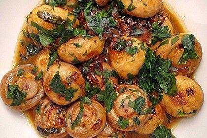 Knoblauch-Champignons, ein schmackhaftes Rezept aus der Kategorie Snacks und kleine Gerichte. Bewertungen: 5. Durchschnitt: Ø 4,0.