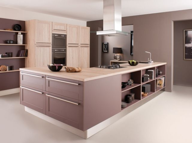 ilot cuisine cuisinella j 39 aime bien les tag res cot. Black Bedroom Furniture Sets. Home Design Ideas