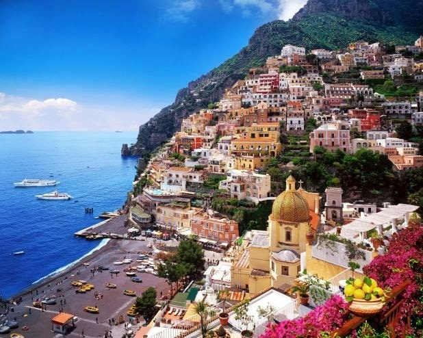 Positano, Almafi Coast, Italy- definitely going back here!!