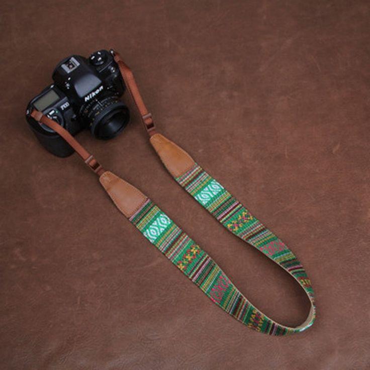Stripe DSLR Camera Strap DSLR Bohemian Series CS067