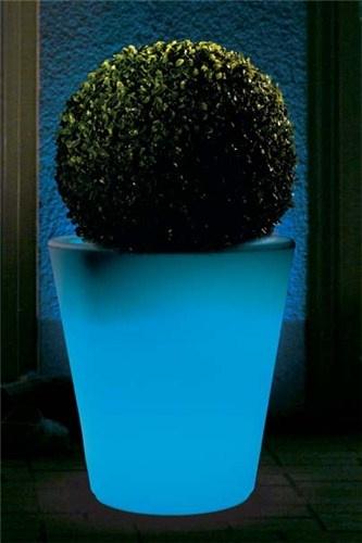 Lampada da esterno Happy Round con telecomando per la gestione del colore