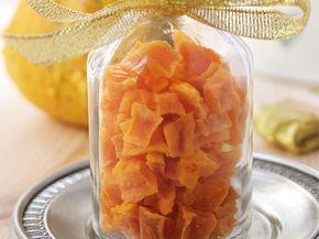 Cпособ сохранения тыквы в очень вкусную и здоровую альтернативу конфетам!