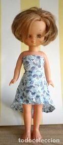 Lote 83966792: vestido segun patron Andrea Morros para Lesly cosido a mano, muñeca no incluida