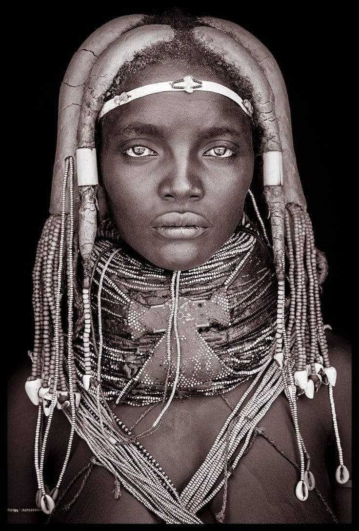 Africa | 'Mynga' from the Mumuhuila tribe of Angola. | ©John Kenny