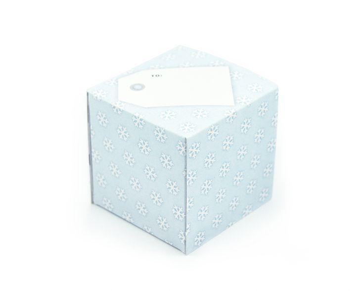 greetabl Snowflakes greeting card and gift box, (http://www.kamidori.com.au/snowflakes/)