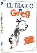 """""""diario de greg"""" Conoce al chico que puso de moda el término anglosajón wimpy (cobardica), en una comedia familiar basada en el libro Diario de Greg , de Jeff Kinney. La película narra las aventuras del ocurrente preadolescente Greg Heffley, quien de algún modo tiene que sobrevivir al período más terrorífico de la vida de cualquiera: la escuela.... Signatura: INF CINE dia"""