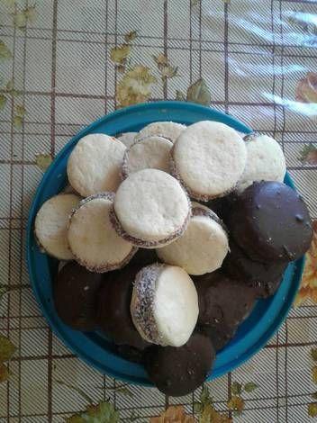 Maicenitas y maicenitas de chocolate