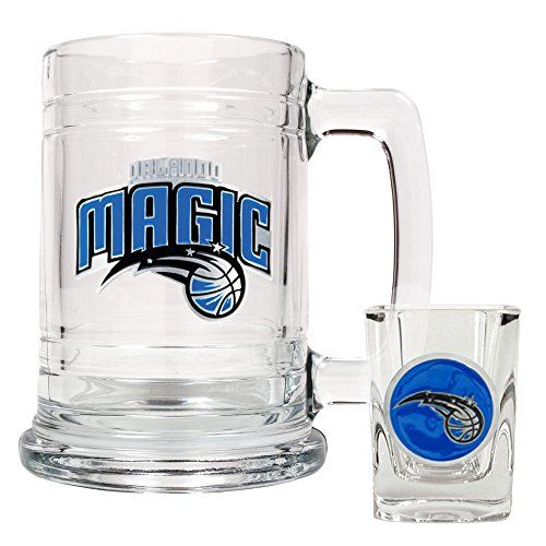 NBA Orlando Magic Boilermaker Set  Primary Logo -- Read more  at the image link.