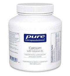 Calcium with Vitamin D3 180's                      | Dietary Supplements