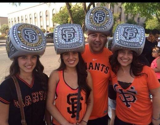 Sf giants championship ring hats  fb4dd8aed
