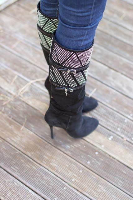 suede studded boots, stivali borchiati, Cesare Paciotti boots, Fashion and Cookies, fashion blogger