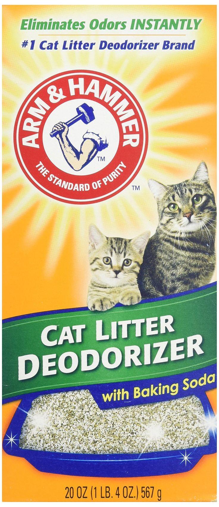 Arm & Hammer Cat Litter Deodorizer, With Baking Soda, 20 oz