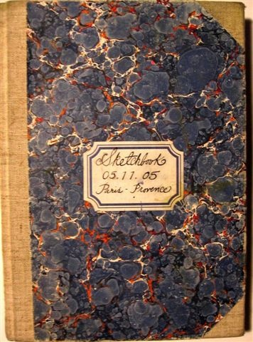Provence Sketchbook 05.11.05