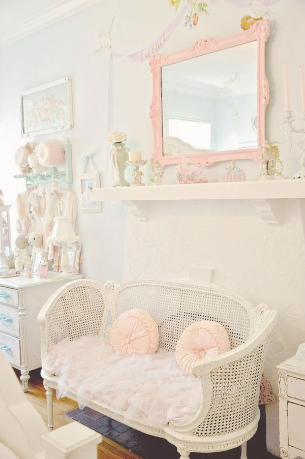 DIY::Thrift to Shabby French Settee Makeover