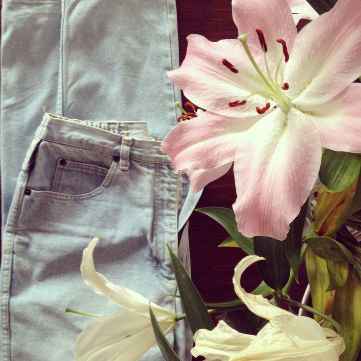 flowers vs jeans
