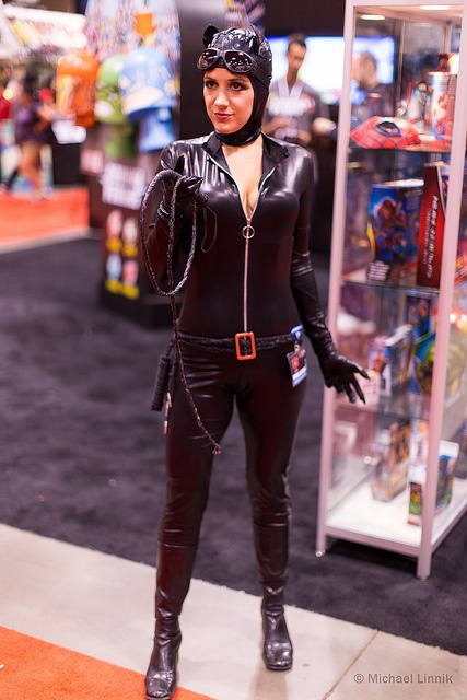 Catwoman - Fan Expo Toronto 2012 - 0029 by mikelinnik, via Flickr