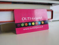Oulun kaupunginkirjasto uusi kirjastokortti