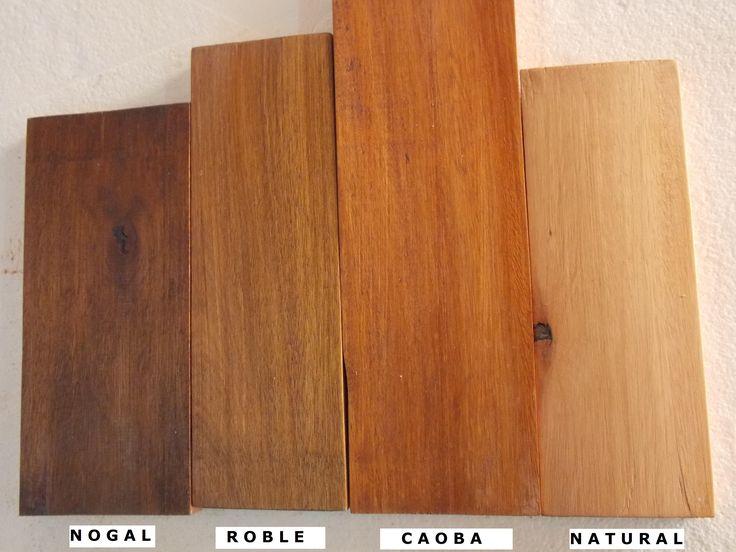 Nuestros 4 tonos principales de cetol que tenemos para - Pintar sobre barniz ...