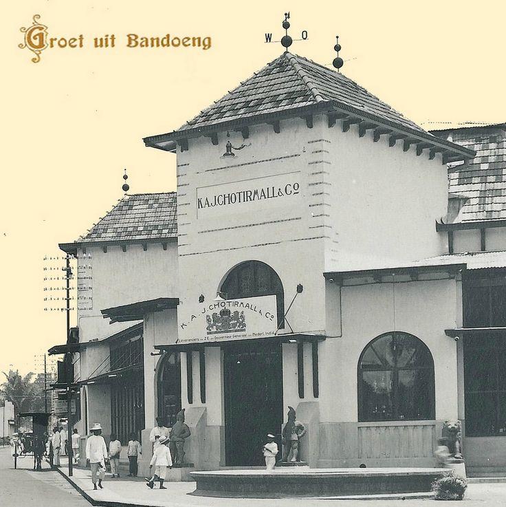 K.A.J. Chotirmall and co. Bragaroad -South Bandoeng/Bandung 1936