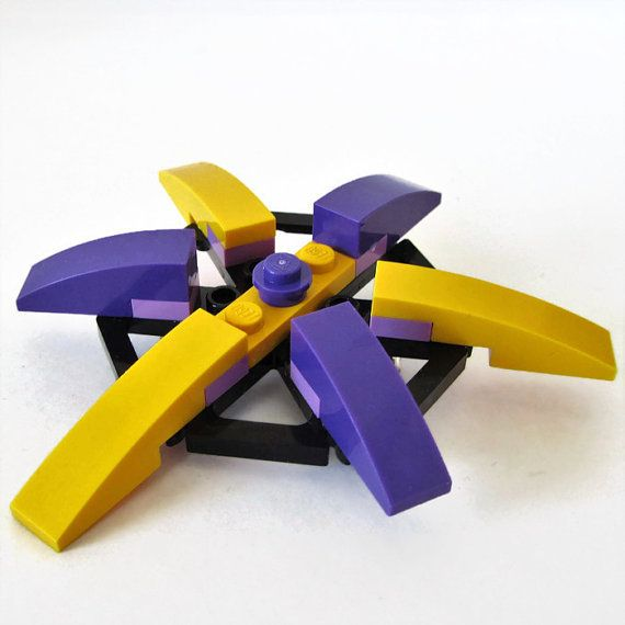 Unique Brooch-From LEGO® Bricks-Cool Pin-Star by ThinkBricks