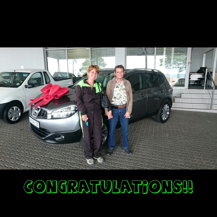 #Congratulations to Mr and Mrs Dyer on their #Nissan #Qashqai 2.0 #Acenta Wishing you many happy miles!   PS: I have another one like this available!  Contact me for all your #new #used #preowned #demo #cars #bakkies #sedans #hatchbacks #SUV #Coupe ALL MAKES AND MODELS!   #Finance available, best prices for your trade in, I deliver across SA!   #Refer clients for my cars and I will #pay you #cash for each successful deal!   0828858780 aadil.khan@supergrp.com www.deviantdealer.co.za