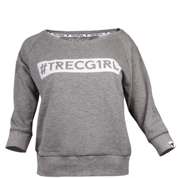 WOMEN'S TREC WEAR - TRECGIRL 003 - SWEATSHIRT/GREY