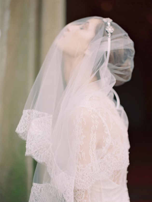 Ethereal. Headpiece and veil by @Robin S. S. Headley ATELIER by LIV HART | photo by @Laura Jayson Jayson Jayson Gordon