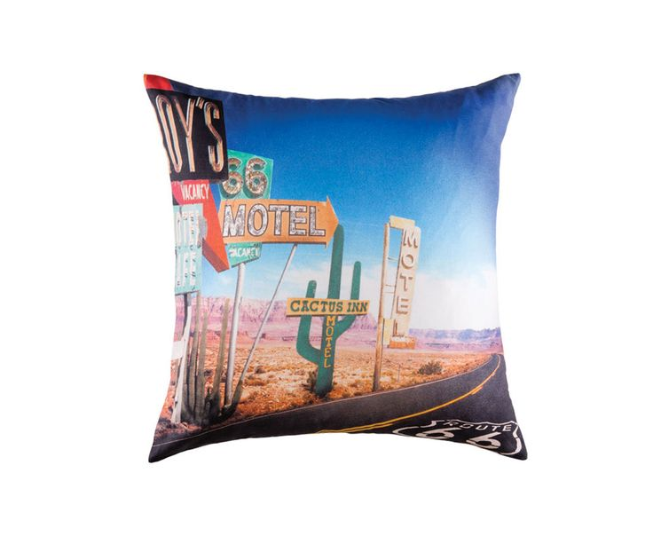 Harvey Norman - Route 66 Cushion by Kas