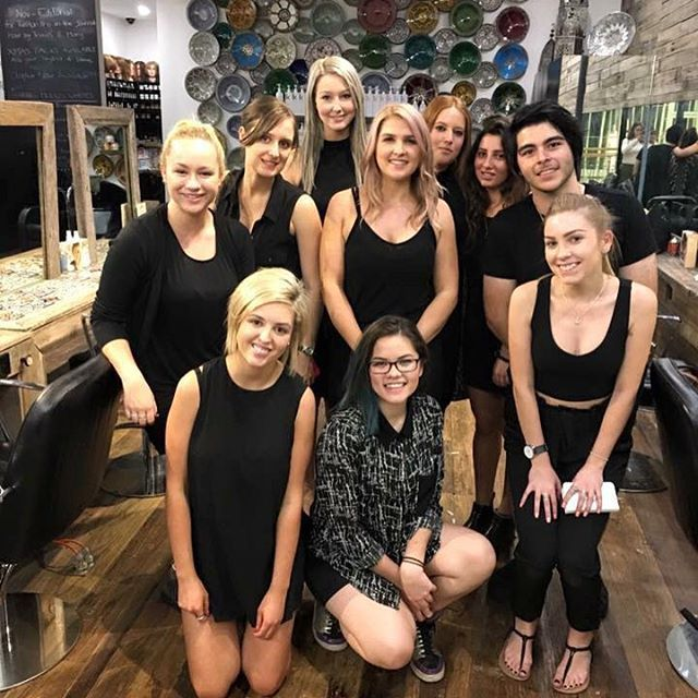 Our beautiful apprentices and Senior Stylist attended an Advanced Tape Hair Extensions masterclass with @hollywoodhairaustralia yesterday! If you've been thinking about getting extensions done, now is the time to take the plunge! Book your appointment online today - just click the link in our profile! #hairbyphd #extensions #hollywoodextensions #hairextensions #hair #hairdresser #apprentice #hairapprentice #skills #tradeskills #stylist #hairstylist #parramatta #sydney #carlingford #training…