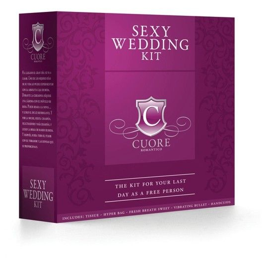 KIT PARA REGALAR BODA - PARA REGALAR http://www.sexfrodisia.com/para-regalar/19548-kit-para-regalar-boda.html