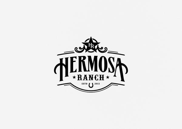Unique Logo Design, Hermosa Ranch via @aelius #Logo #Design