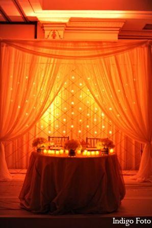 Custom #lighting for an #Indian wedding.