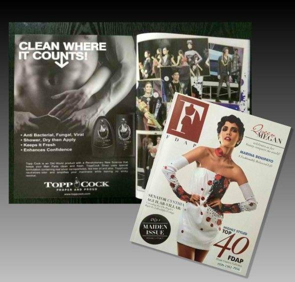 ToppCock on FDAP Magazine's Maiden Issue #fdap #fmagazine #toppcock