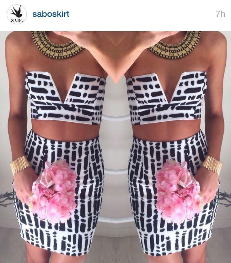 Sabo skirt twin set