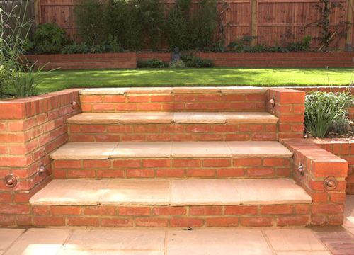 Small Sloping Garden Design