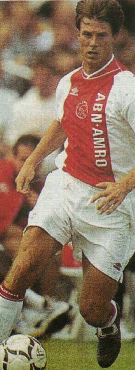 Brian Laudrup of Ajax Amsterdam in 1999.