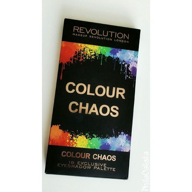 WEBSTA @ philacalista - 💚💖💛💜💙 @makeuprevolution Ultimate Colour Chaos Palette 🌈 This palette contains 18 shades, 12 shimmer and 6 matte. #makeuprevolution #makeuprevolutionlondon #eyeshadow #palette #colourchaos #boozyshop #makeup #makeupartist #mua #bblogger #beautyblogger #philacalista #instamakeup #blendthatshit #neon #shimmer #matte #colorful #colourful #inspiration #wakeupmakeup #beauty #makeupaddict #makeuprevolutionhk #mymakeuprevolution #oogschaduwpalette #oogschaduw…