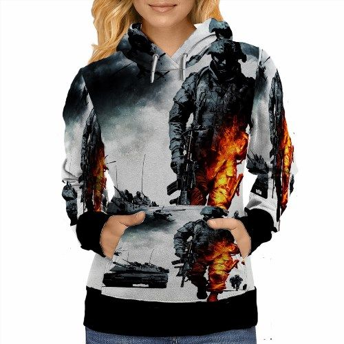 69.99$  Watch here - http://vijsj.justgood.pw/vig/item.php?t=0333ad33894 - Bad Company Battlefield Hoodie For Women Size S 69.99$