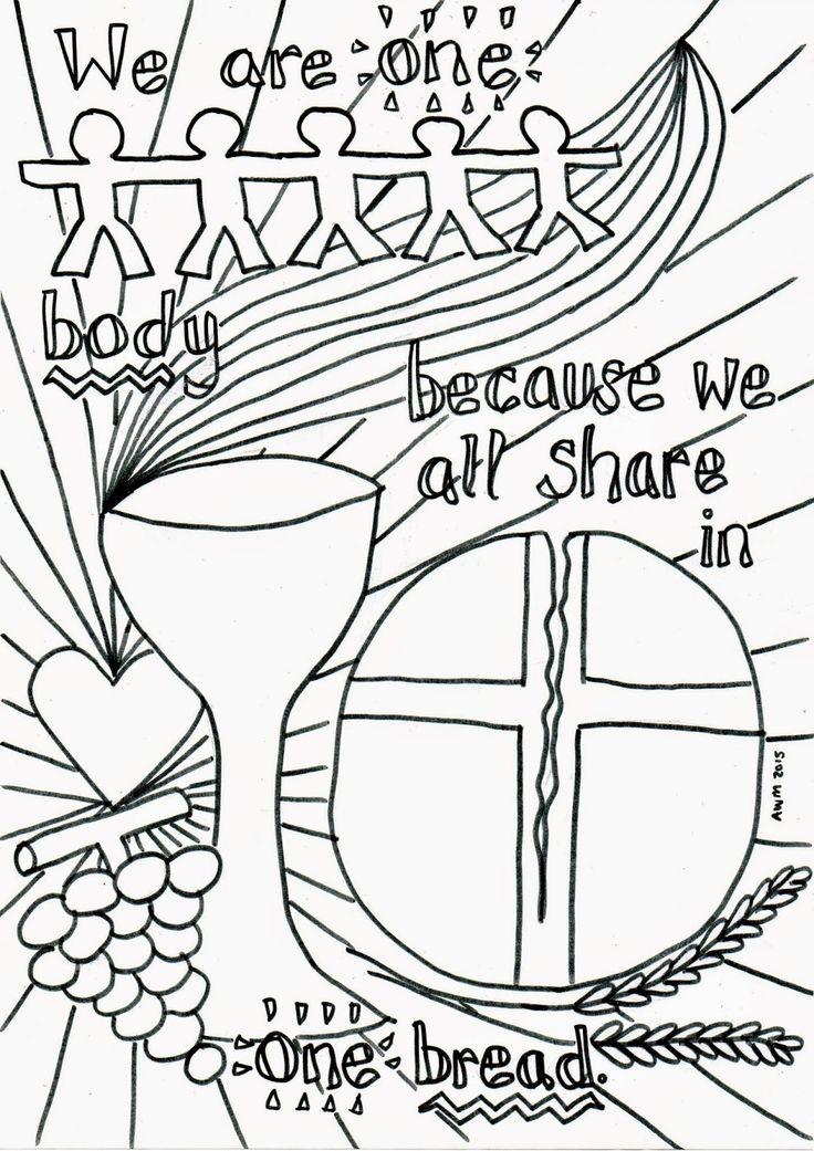 communion coloring pages jesus - photo#18