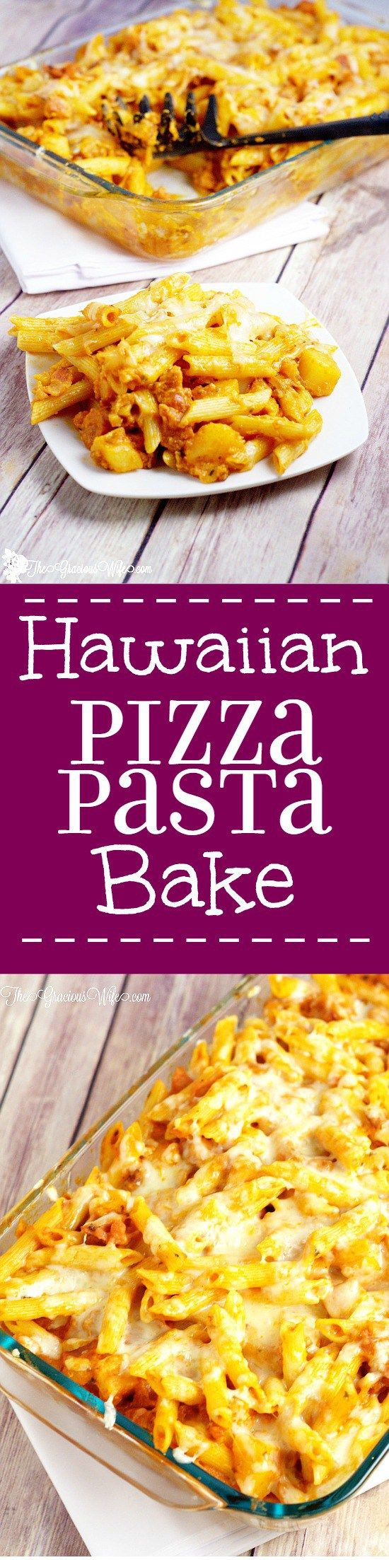 1903 best pasta recipes images on pinterest cooking food dinner hawaiian pizza pasta bake recipe an easy dinner recipe idea cheese bacon forumfinder Gallery