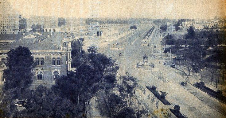 1935. Paseo de la Castellana | Flickr - Photo Sharing!