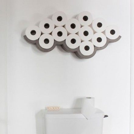 decovry.com - Lyon Beton | Cloud Toiletpapierhouder | Large €125
