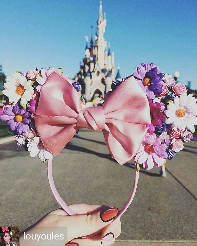 Rapunzel flower ears