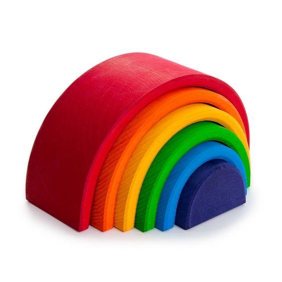 Stacking Rainbow - rainbows are favorites around this house.