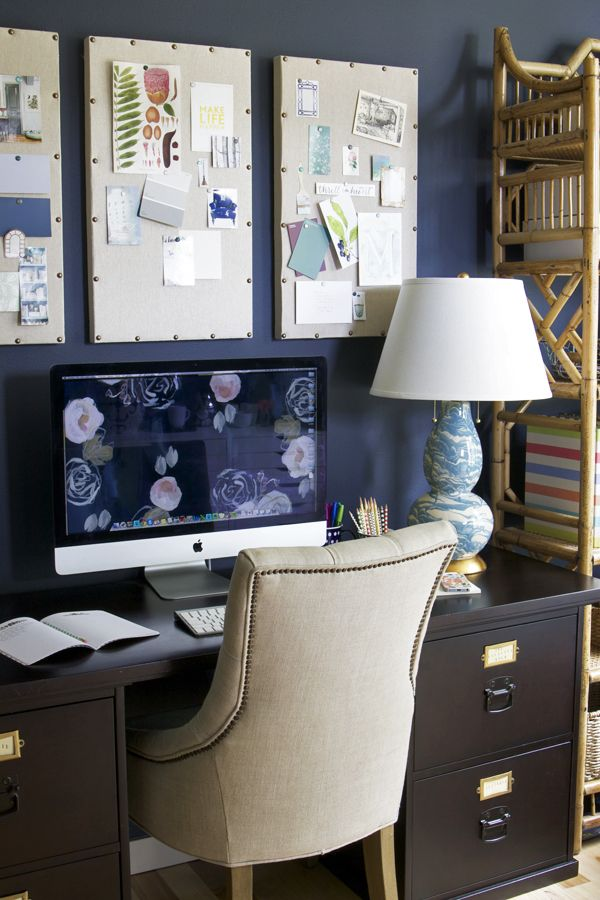 4 Takeaway Tips For A Home Office {My Home Office